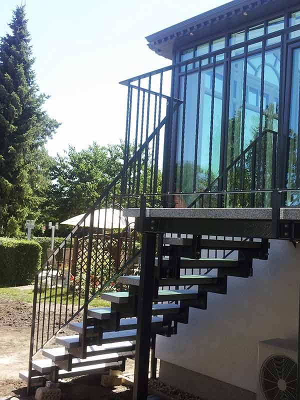 Außentreppe 1